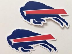 2x Buffalo Bills Car Window Bumper Laptop Wall Vinyl Sticker
