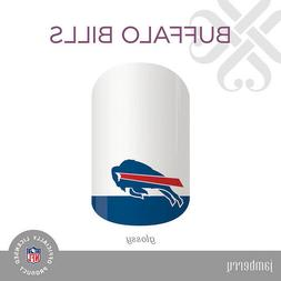 Authentic JAMBERRY Nail Wraps - NFL - Buffalo Bills - Full S