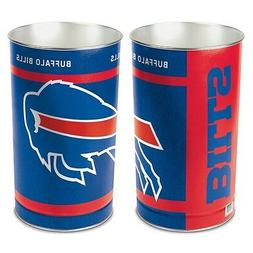 "BUFFALO BILLS 15""X10.5"" TRASH CAN WASTEBASKET BRAND NEW WINC"