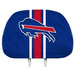 Buffalo Bills 2-Pack Color Print Auto Car Truck Headrest Cov