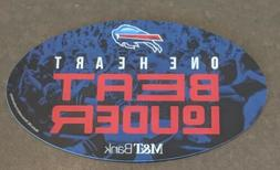 Buffalo Bills 2018 car fridge M and & T Bank one heart beat