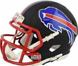 Riddell Buffalo Bills Black Matte Alternate Speed Mini Footb