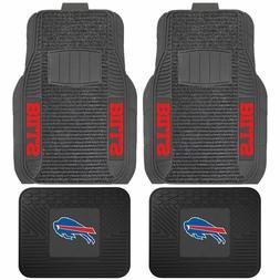 Buffalo Bills Deluxe Auto Floor Mats - Car, Truck, SUV