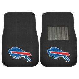 Buffalo Bills 2 Piece Embroidered Car Auto Floor Mats