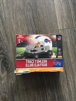 Buffalo Bills Helmet Cart Set with Minifigure OYO Sports Toy