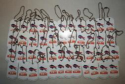 Buffalo Bills Lot of  KEY CHAINS Dog Tag NEW