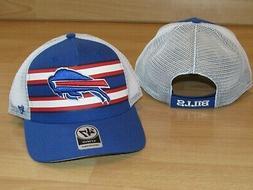 Buffalo Bills '47 Brand MVP Team Stripe Mesh Back Adjustable
