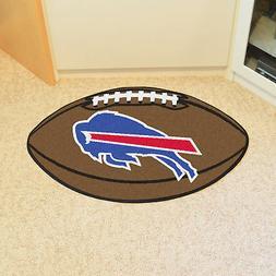 Buffalo Bills NFL Football Shaped Area Rug Floor Mat