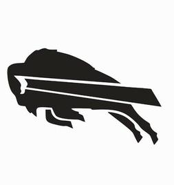 Buffalo Bills NFL Football Vinyl Die Cut Car Decal Sticker -