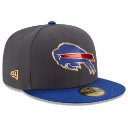 Buffalo Bills New Era NFL Gold Collection On Field 59FIFTY F