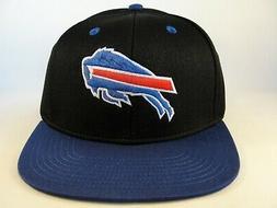 Buffalo Bills NFL Reebok Snapback Hat Cap Black Blue