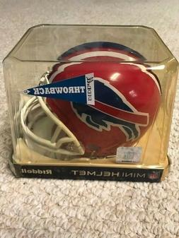 Buffalo Bills NFL Throwback 87-01 Riddell Mini Helmet New OR