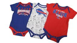 Buffalo Bills Official NFL Apparel Baby Infant Size 3 Piece