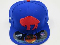 New Era Buffalo Bills Throwback Retro 59Fifty Fitted Royal B