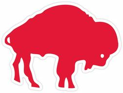 Buffalo Bills Vinyl Bumper Sticker Decal. Car Cornhole wall.