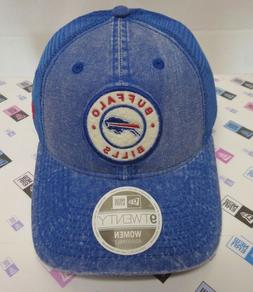 Buffalo Bills Women's New Era 9TWENTY Denim Trucker Hat Cap