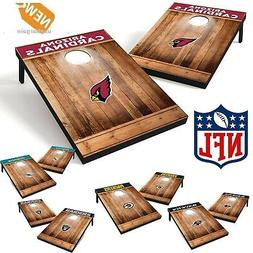 Cornhole Game Set Bean Bags Boards NFL Toss Adult Kids  Fun