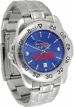 gametime buffalo bills sport steel watch
