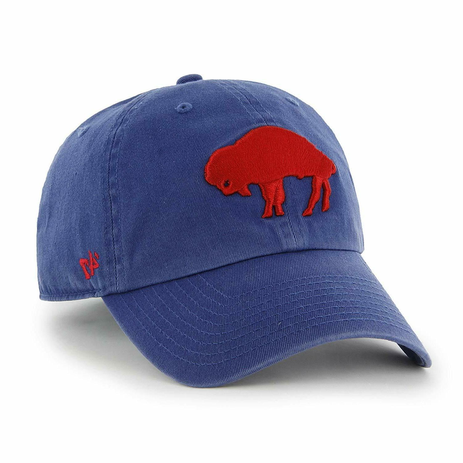 buffalo bills 47 brand throwback retro logo