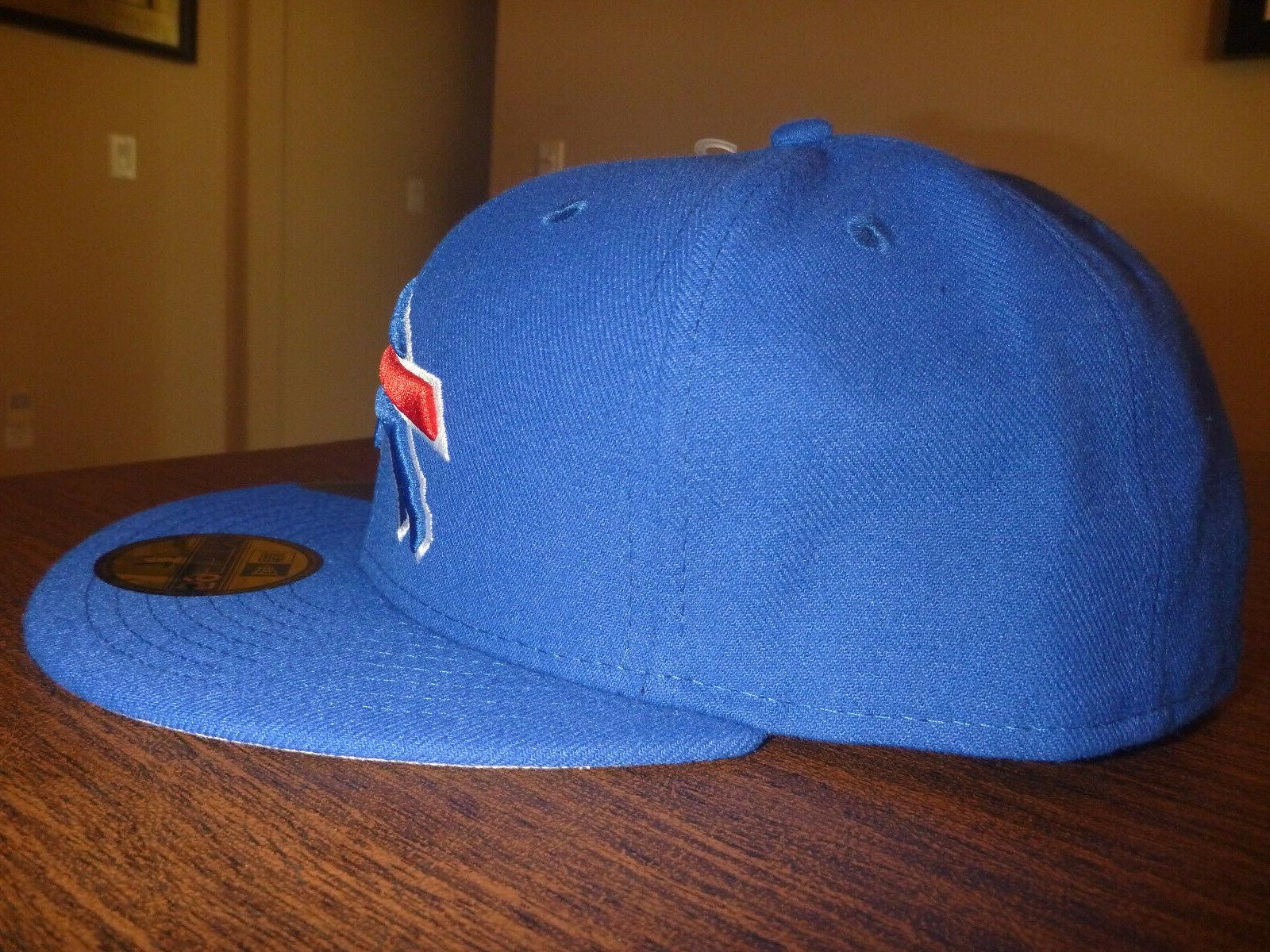 BUFFALO BILLS NEW ERA 59FIFTY NFL ON TEAM BASIC BLUE FITTED HAT