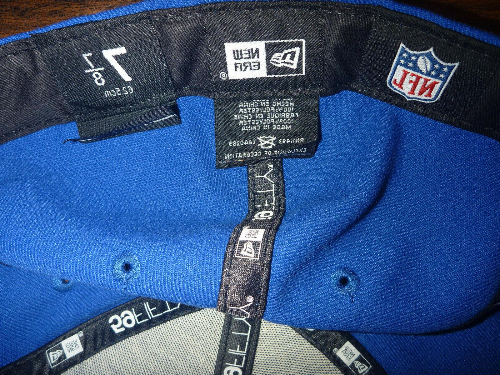 BUFFALO BILLS 59FIFTY NFL ON FIELD TEAM BASIC FITTED HAT 7