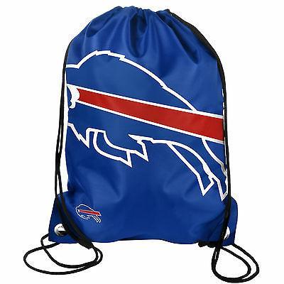 Buffalo Bills Back Pack/Sack Drawstring Bag/Tote New