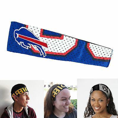 buffalo bills elastic headbands