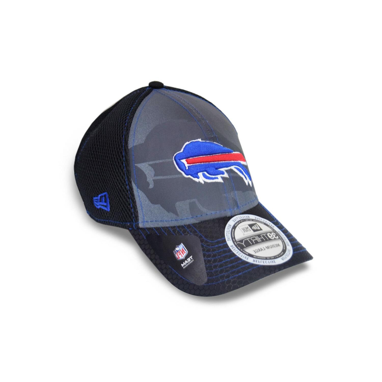 buffalo bills nfl 39thirty reflective flex fit