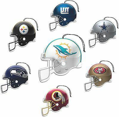 nfl air fresheners 3 pack for your