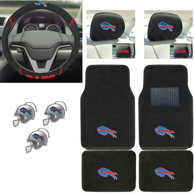 nfl buffalo bills car truck floor mats