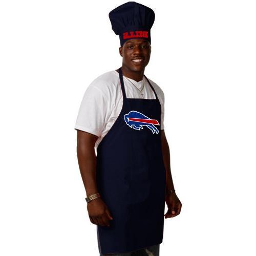 nfl buffalo bills chef hat apron set