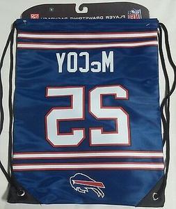 LeSean McCoy #25 Buffalo Bills Jersey Back Pack/Sack Drawstr