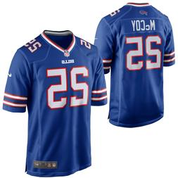 LeSean McCoy #25 Buffalo Bills Nike Men's Royal Blue Game Je