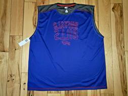 Mens NFL Team Apparel TX3 Buffalo Bills Sleeveless Shirt Siz