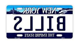 Metal Vanity License Plate Tag Cover - Buffalo Bills - Footb