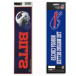 New NFL Buffalo Bills Die-Cut Vinyl Slogan Decal and Bumper