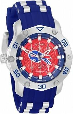 nfl buffalo bills automatic red dial ladies