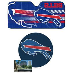 NFL Buffalo Bills Car Truck Windshield Folding SunShade & Pe