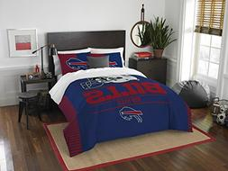 NFL Buffalo Bills Draft Full/Queen Comforter and 2 Sham Set