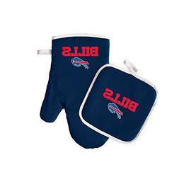 NFL Buffalo Bills Logo Oven Mitt & Pot Holder, One Size, Blu