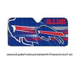 NFL Buffalo Bills Universal Auto Shade, Large, Blue
