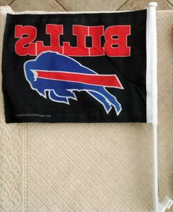 NFL CAR WINDOW FLAG - Buffalo Bills - Includes 2 Flags