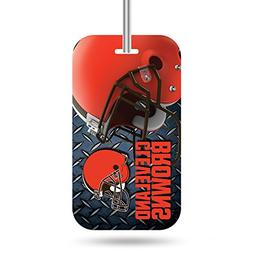 Rico Industries NFL Cleveland Browns Plastic Team Luggage Ta