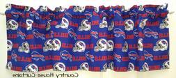 NFL Football Buffalo Bills Handmade Window Curtain Valance 5