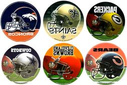 NFL Football Round Helmet Window Bumper Decal Sticker