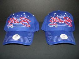 NWT Buffalo BILLS Set of 2 Hats Sports Cap NFL Team Apparel