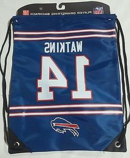 Sammy Watkins #14 Buffalo Bills Jersey Back Pack/Sack Drawst
