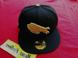 size 8 nfl buffalo bills black gold