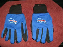 TWO  PAIR OF BUFFALO BILLS SPORT UTILITY GLOVES FROM FOREVER