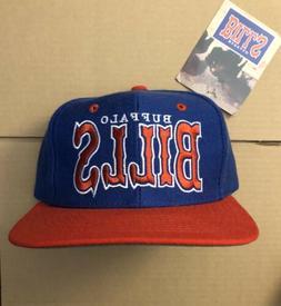 vtg NWT Buffalo Bills Snapback Hat Cap 90s Sabres Jim Kelly